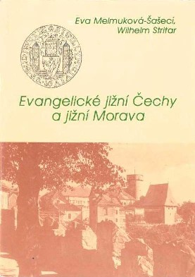 Front page of the book The Evangelic Southern Bohemia and Southern Moravia